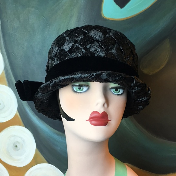 Vintage Accessories - Mid Century Mr. John 1950's Hat